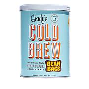 Grady's Cold Brew Coffee Bean Bags Decaf 2-pack