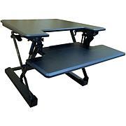 Hanover Tabletop Sit/Stand Lift Desk w/Adjustable Height (Black)