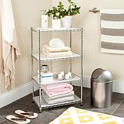 Happimess Jules Adjustable  Wire Mini Rack - Chrome