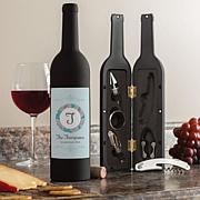 Happy Couple Personalized Wine Kit