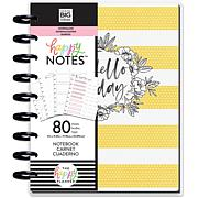 Happy Planner Medium Journaling Notebook with 80 Sheets - Planning