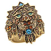 "Heidi Daus ""Bling of the Jungle"" Pavé Crystal Ring"