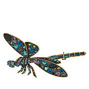 "Heidi Daus ""Darn Pretty"" Crystal-Accented Dragonfly Pin"