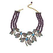 "Heidi Daus ""Dragonfly Artistry"" Crystal 3-Row Beaded Necklace"