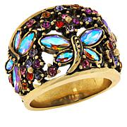 "Heidi Daus ""Fantasy in Flight"" Crystal Dragonfly Ring"