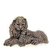 "Heidi Daus ""In Like a Lion, Out Like a Lamb"" Crystal Pin"