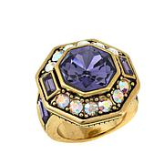 "Heidi Daus ""Lavish Layers"" Crystal Ring"