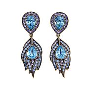 "Heidi Daus ""Strut Your Stuff"" Crystal Drop Earrings"