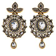 "Heidi Daus ""Worth Waiting For"" Crystal Drop Earrings"