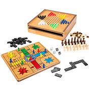 Hey! Play! 7-in-1 Combo Game - Chess  Ludo  Chinese Checkers   More