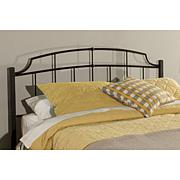 Hillsdale Furniture Sheffield Headboard with Frame-Textured Black-Twin