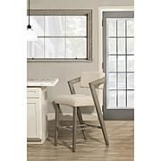 Hillsdale Furniture Snyder Counter Stool - Aged Gray/Ivory
