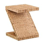 Holly and Martin Zico Water Hyacinth Accent Table