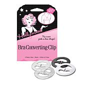 Hollywood Fashion Secrets Bra Converting Clip 4-Pack
