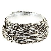 HomeWorx by Harry Slatkin Bird's Nest Pedestal Candle Holder