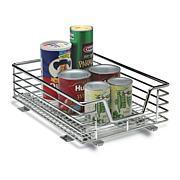 Household Essentials Sliding Cabinet Organizer - Chrome