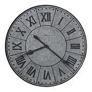 "Howard Miller ""Manzine"" Large Metal Wall Clock"