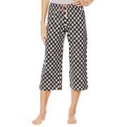 Hue Printed Capri Pajama Pant - Missy