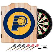 Indiana Pacers NBA Wood Dart Cabinet Set