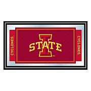 Iowa State University Logo and Mascot Framed Mirror