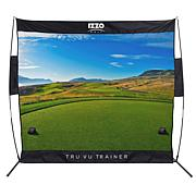 IZZO Golf Tru Vu Trainer Hitting Net (Links)