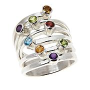 Jay King Gallery Collection Multi-Color Multi-Gemstone Ring
