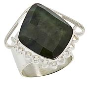 Jay King Sterling Silver Nephrite Jade Ring