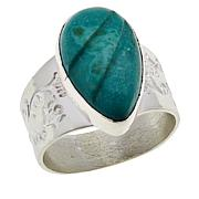 Jay King Sterling Silver Pilot Mountain Turquoise Ring