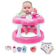 """JC Toys Lots to Love Babies 14"""" Baby Doll and Walker Gift Set"""