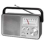 Jensen MR-750 Portable AM/FM Radio w/Built-in Speaker & Carry Handle