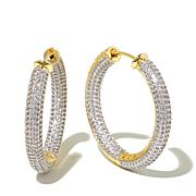 Jewels by Jen Medium Plunger-Back Hoop Earrings