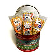 Jody's Gourmet Popcorn Collection in Fiesta Tin