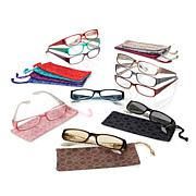 JOY 20-piece SHADES Readers Couture Croco Embossed Style Collection