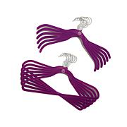 JOY Huggable Hangers® 100pc Suit/Shirt Hangers - Chrome