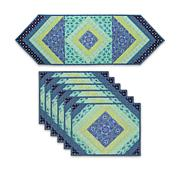 June Tailor Quilt As You Go Placemats and Tablerunner Set