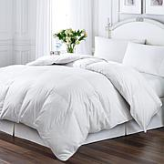Kathy Ireland White Duck Feather and Down Full/Queen Comforter