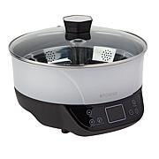 Kitchen HQ Auto-Lifting Deep Fryer & Steamer