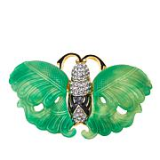 "KJL by Kenneth Jay Lane ""Perfect Beauty"" Butterfly Brooch"