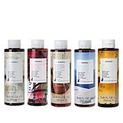 Korres 5-piece Shower Gel Collection