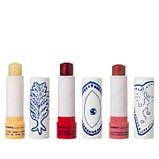 Korres Greek Kiss Lip Butter Stick Trio