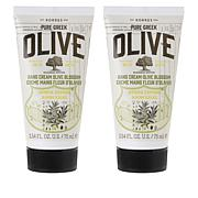Korres Olive Oil & Blossom Hand & Nail Cream Duo