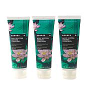 Korres Water Lily Jumbo Body Butter Trio