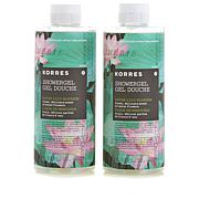 Korres Water Lily Shower Gel Duo