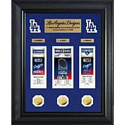 LA Dodgers 2020 World Series Deluxe Gold Coin/Event Carnet Collection