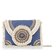 LaBellum by Hillary Scott Beaded Crossbody Bag
