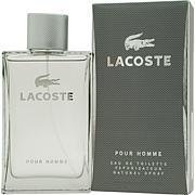 Lacoste Pour Homme Eau De Toilette Spray - 1.6 oz.