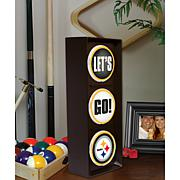 """""""Let's Go"""" Light - Pittsburgh Steelers"""