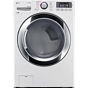 LG 7.4CF Gas Dryer with TruSteam Technology - White
