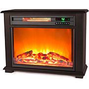 Lifesmart Infrared Fireplace Heater - Dark Walnut