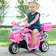 Lil' Rider 3-Wheel Battery-Powered FX Sport Bike - Pink